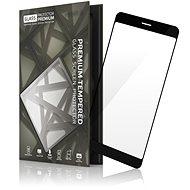 Tempered Glass Protector Rámečkové pro Huawei P Smart Černé - Ochranné sklo