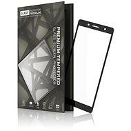 Tempered Glass Protector Rámečkové pro Sony Xperia XZ2 Compact Černé - Ochranné sklo