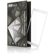 Tempered Glass Protector Rámečkové pro Sony Xperia XZ2 Compact Bílé - Ochranné sklo