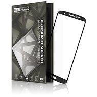 Tempered Glass Protector Rámečkové pro Moto G6 Plus Černé - Ochranné sklo