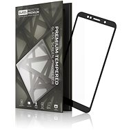 Tempered Glass Protector Rámečkové pro Honor 7S Černé - Ochranné sklo