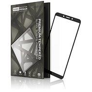 Tempered Glass Protector Rámečkové pro Xiaomi Redmi 6/6A Černé - Ochranné sklo