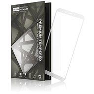 Tempered Glass Protector Rámečkové pro Xiaomi Mi A2 Bílé - Ochranné sklo