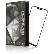 Tempered Glass Protector Rámečkové pro LG G7 Černé - Ochranné sklo