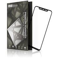 Tempered Glass Protector Rámečkové pro Xiaomi Mi 8 Černé - Ochranné sklo