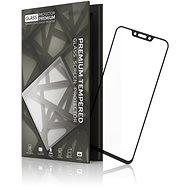 Tempered Glass Protector Rámečkové pro Huawei Nova 3 / Nova 3i Černé - Ochranné sklo