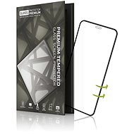 Tempered Glass Protector 3D Case Friendly pro iPhone XS Max Černé - Ochranné sklo