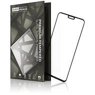 Tempered Glass Protector Rámečkové pro Honor 8X, Černé - Ochranné sklo