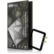 Tempered Glass Protector pro Apple Watch 4 40mm; 3D Glass Černé - Ochranné sklo