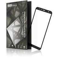 Tempered Glass Protector pro Samsung Galaxy J4+ / J6+ Černé - Ochranné sklo