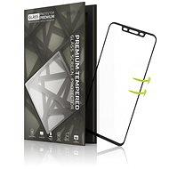 Tempered Glass Protector pro Huawei Mate 20 Pro 3D GLASS Černé - Ochranné sklo
