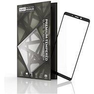 Tempered Glass Protector pro Samsung Galaxy A9, Černé - Ochranné sklo