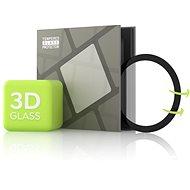 Tempered Glass Protector pro Samsung Watch Active - 3D GLASS, Černé - Ochranné sklo