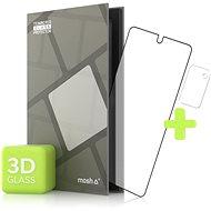 Tempered Glass Protector pro Samsung Galaxy Note 20 3D GLASS, Černé + sklo na kameru - Ochranné sklo