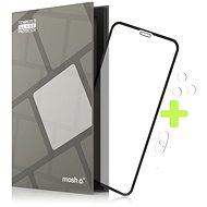 Tempered Glass Protector Rámečkové pro iPhone Xs Max / 11 Pro Max, Černé + sklo na kameru - Ochranné sklo