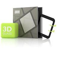 Tempered Glass Protector pro Xiaomi Mi Watch Lite - 3D GLASS, černé - Ochranné sklo