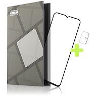 Tempered Glass Protector Rámečkové pro Motorola Moto G10 / G30, černé + sklo na kameru - Ochranné sklo