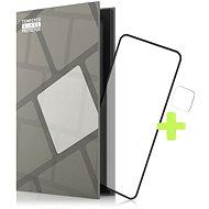 Tempered Glass Protector Rámečkové pro LG K52, černé + sklo na kameru - Ochranné sklo