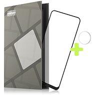 Tempered Glass Protector Rámečkové pro Nokia 5.4, černé + sklo na kameru - Ochranné sklo