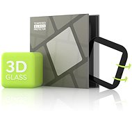 Tempered Glass Protector for Fitbit Versa 2 - 3D GLASS, Black