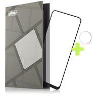 Tempered Glass Protector Rámečkové pro Nokia 3.4, černé + sklo na kameru - Ochranné sklo