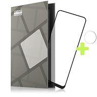 Tempered Glass Protector Rámečkové pro Nokia X10 / X20. černé + sklo na kameru - Ochranné sklo