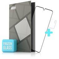 Tempered Glass Protector matné rámečkové pro POCO M3 Pro 5G, černé + sklo na kameru - Ochranné sklo