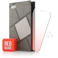 Tempered Glass Protector zrcadlové pro iPhone 12 / 12 Pro, červené + sklo na kameru
