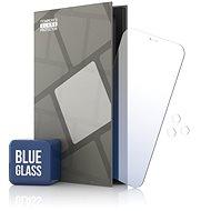 Ochranné sklo Tempered Glass Protector zrcadlové pro iPhone 12 Pro Max, modré + sklo na kameru - Ochranné sklo