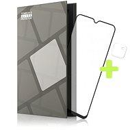 Tempered Glass Protector Rámečkové pro Realme Narzo 30A, černé + sklo na kameru - Ochranné sklo