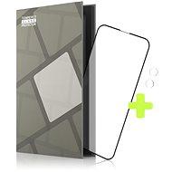 Tempered Glass Protector rámečkové pro iPhone 13 mini , černé + sklo na kameru (Case Friendly)