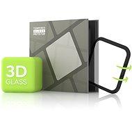 Tempered Glass Protector pro Apple Watch 5 44mm - 3D GLASS, Černé - Ochranné sklo
