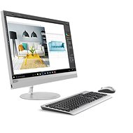 Lenovo IdeaCentre 520-24IKL Touch Silver - All In One PC