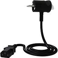 Tinen 230V C13 s inovativní zástrčkou 1m černý - Napájecí kabel