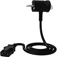 Tinen 230V C13 s inovativní zástrčkou 3m černý - Napájecí kabel