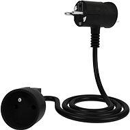Tinen prodlužovací kabel s inovativní zástrčkou 10m černý - Prodlužovací kabel