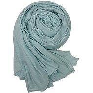 Ladies scarf Pacific blue