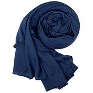 Women's scarf dark blue