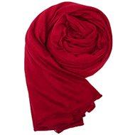 Ladies scarf burgundy red