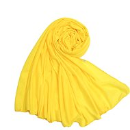 Ladies scarf yellow