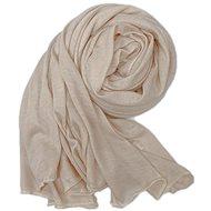 Ladies scarf beige