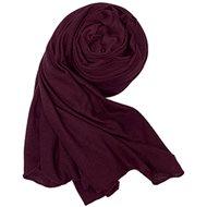 Women's scarf burgundy