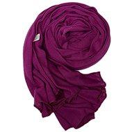 Ladies scarf purple