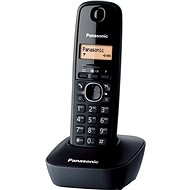 Panasonic KX-TG1611FXH Black - Digital Cordless Home Phone