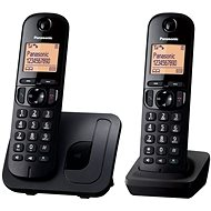 Panasonic KX-TGC212FXB Twinpack Black - Telefon pro pevnou linku