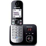Panasonic KX-TG6821FXB Black záznamník - Telefon pro pevnou linku