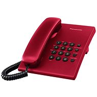 Panasonic KX-TS500FXR Red - Domácí telefon