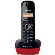 Panasonic KX-TG1611FXR Red - Telefon pro pevnou linku