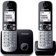 Panasonic KX-TG6812FXB Black - Telefon pro pevnou linku