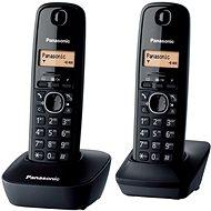 Panasonic KX-TGB212FXB Twinpack Black - Telefon pro pevnou linku